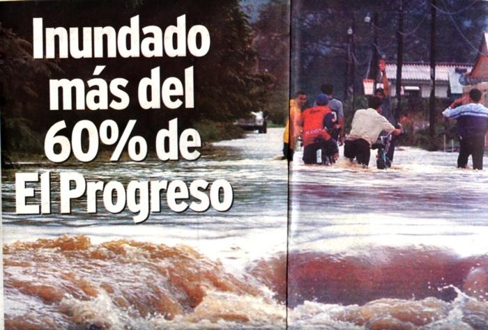2006年ホンジュラス「大雨」