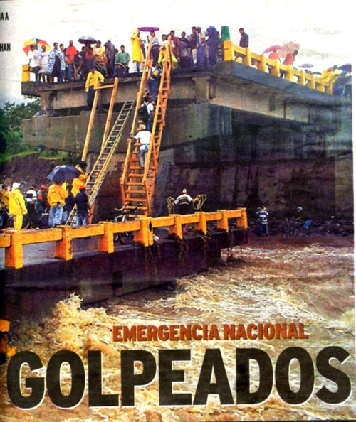 2006年ホンジュラス「大雨で橋ブッ壊れる 2」