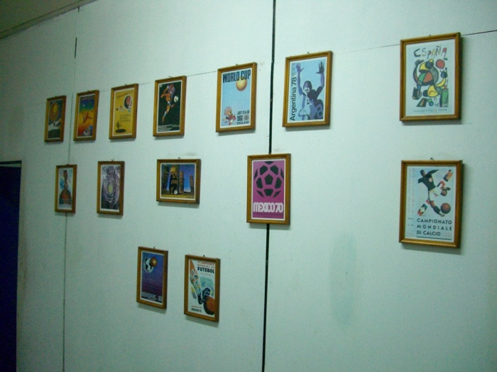 2006年8月。2部リーグの協会。W杯記念切手。