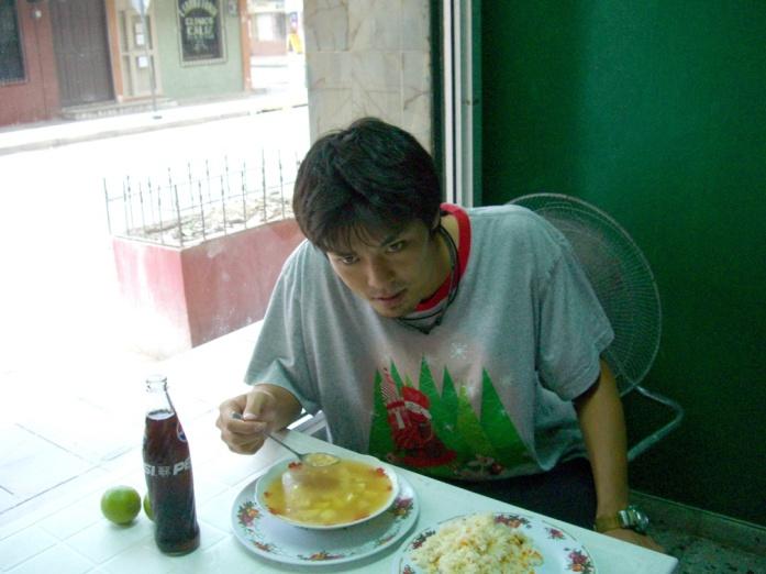2006年9月。Yojiついにホンジュラスに帰る!! 005