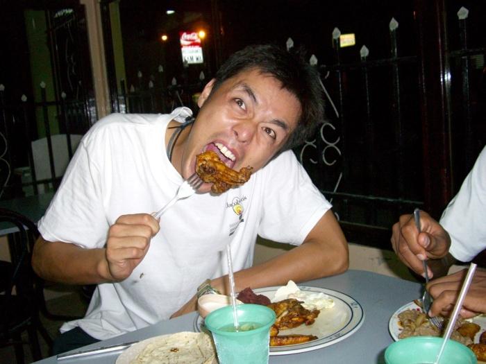 2006年10月。Yojiついにホンジュラスに帰る!! 0085