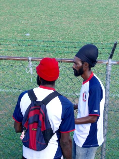 2006年11、12月。ジャマイカ最強チームの一つ「Port more United」合流!! 070