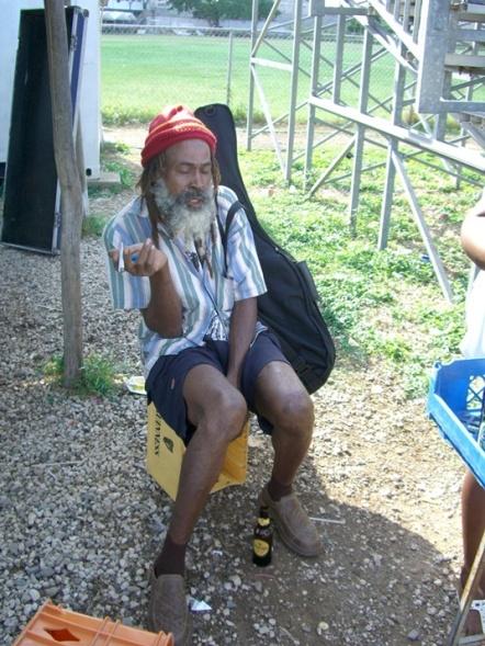 2006年11、12月。ジャマイカ最強チームの一つ「Port more United」合流!! 067