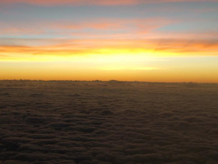 2006年11月23日。ジャマイカの空。