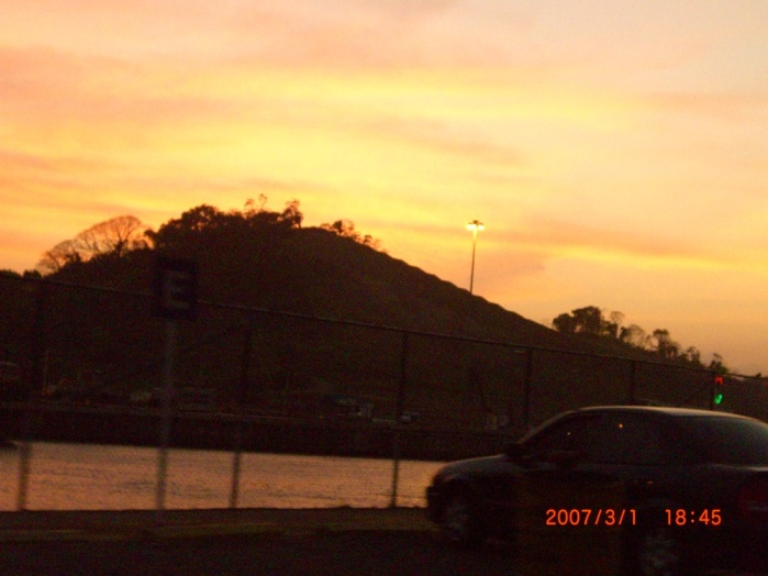 2007年2月。パナマ運河!!美しい!