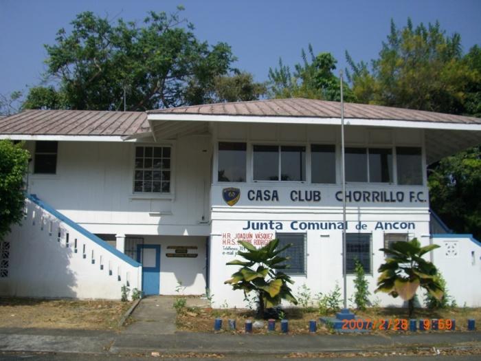 2007年2月。Chorrilloのクラブ・ハウス。