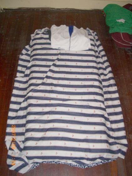 2007年2月。Yojiのベッド(?)じゃけど…。