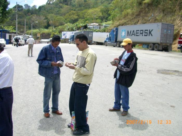 2007年2月19日(月)。ついに「パナマ行き」当日!「TICA BUSツアー」スタート!無事、Nicarag (13)