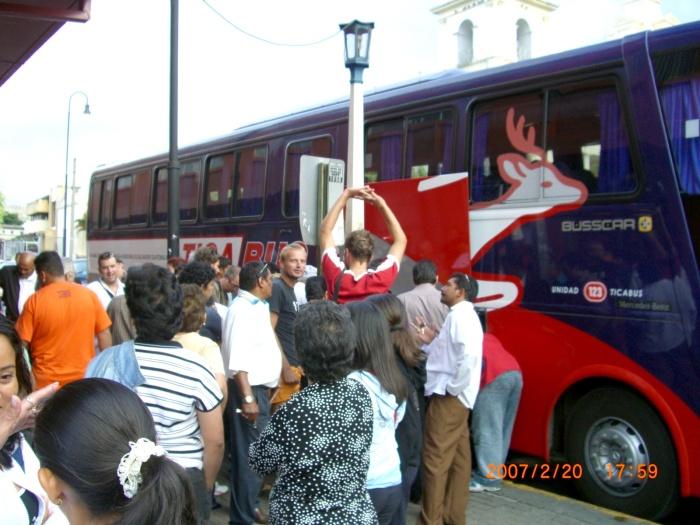 2007年2月19日(月)~ホンジュラス→ニカラグア→コスタリカ→…ついに上陸パナマ!! 028