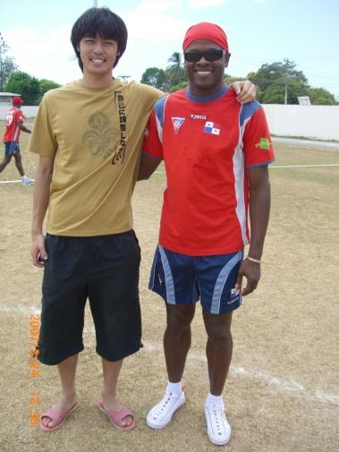 2007年2月24日(土)ホルへ・デリー・バルデス!(Jリーグで活躍)