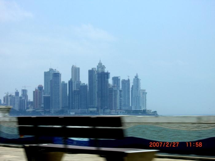 2007年2月。ついに上陸!パナマの首都パナマ・シティー!! 075