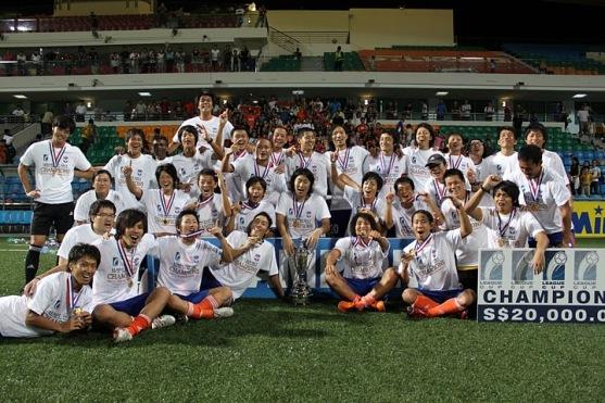 リーグカップ優勝(クラブ史上初タイトル獲得)2011年② ※アルビレックス新潟シンガポール