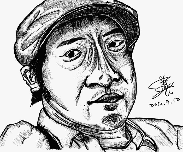 【1人】<Yojiのグロテスクな似顔絵>!2012年9月13日(木)