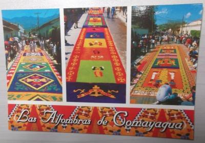 Alfombras de Comayaguaポストカード①!2012年12月4日(火)
