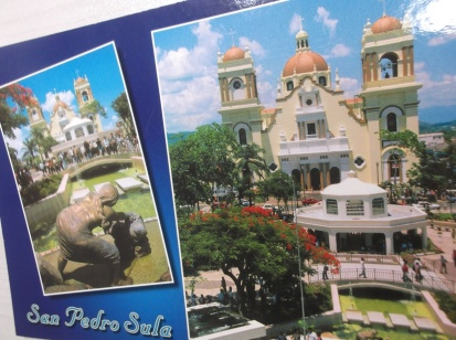 (青)San Pedro Sulaポストカード②!2012年12月4日(火)