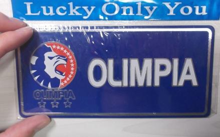 Olimpiaステッカー①!2012年12月4日(火)