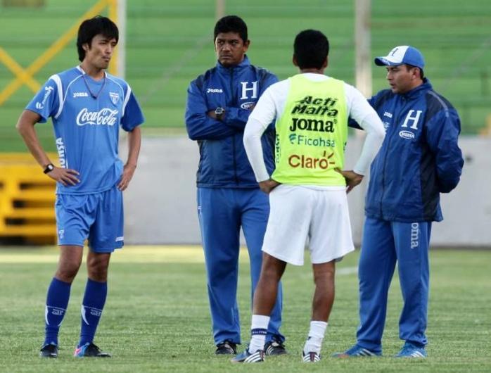 2014 Cuerpo tecnicos de Sub-20 de Honduras