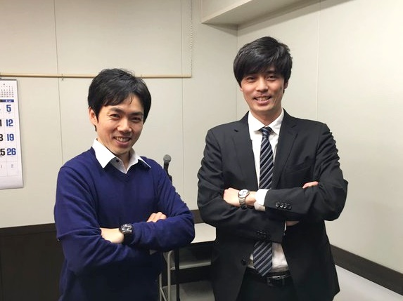 RCCラジオ番組ココスポ出演、石田充アナと!2016年3月9日(水)